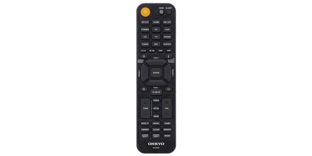 ONKYO TX RZ740 Black Receptor AV 9 2 canales mando