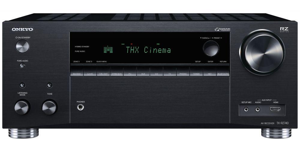 ONKYO TX RZ740 Black Receptor AV 9 2 canales thx