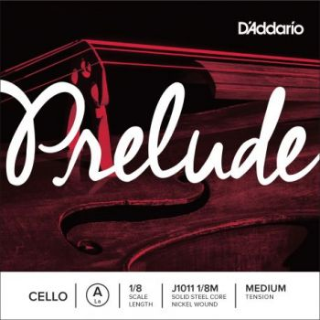 D´addario JJ1011 Cuerda para Violonchelo Prelude La (A), 1/8 tensión media