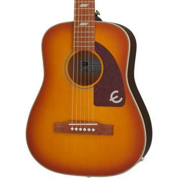 Epiphone Lil Tex Faded Cherry Sunburst Guitarra electro/acústica