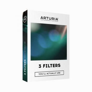 Arturia 3 FILTERS YOU LL ACTUALLY USE