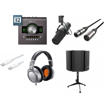 Pack Podcast and Youtuber Universal Audio Apollo Twin MKII Duo