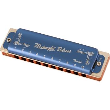 Fender Armónica Midnight Blues F