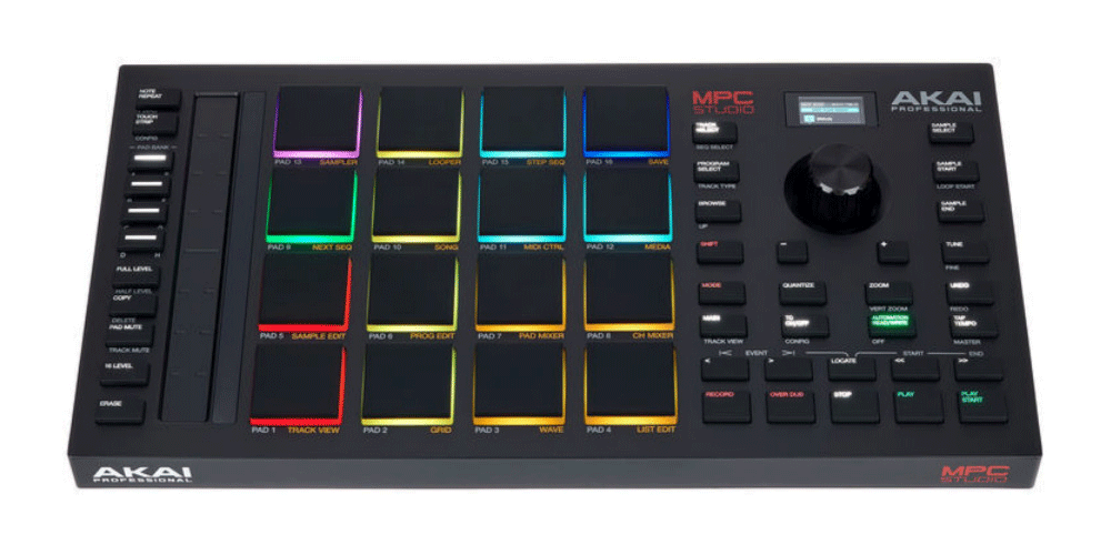 akai mpc studio controladora midi usb conexiones
