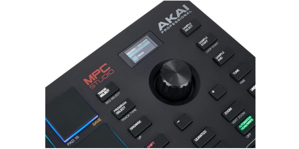 akai mpc studio controles