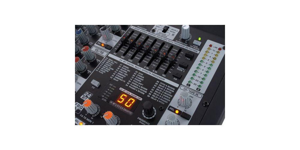 behringer pmp4000 controles
