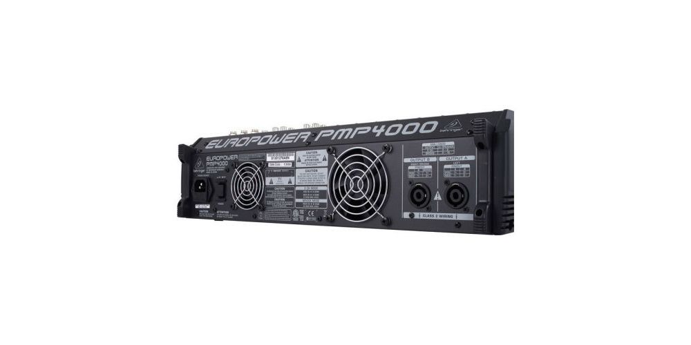 pmp4000 behringer conexiones