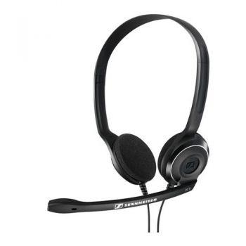 SENNHEISER PC-8 USB Auriculares Pc con Micrófono Teletrabajo ( Micrófono con cancelación activa de Ruido )