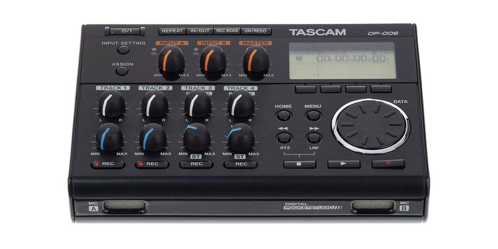 grabador Tascam DP 006