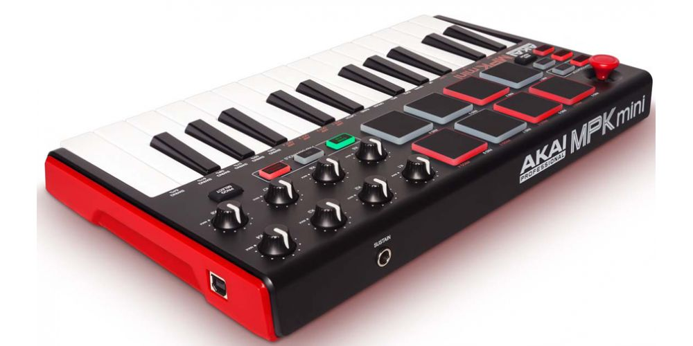 akai mpk mini mk2 rear usb