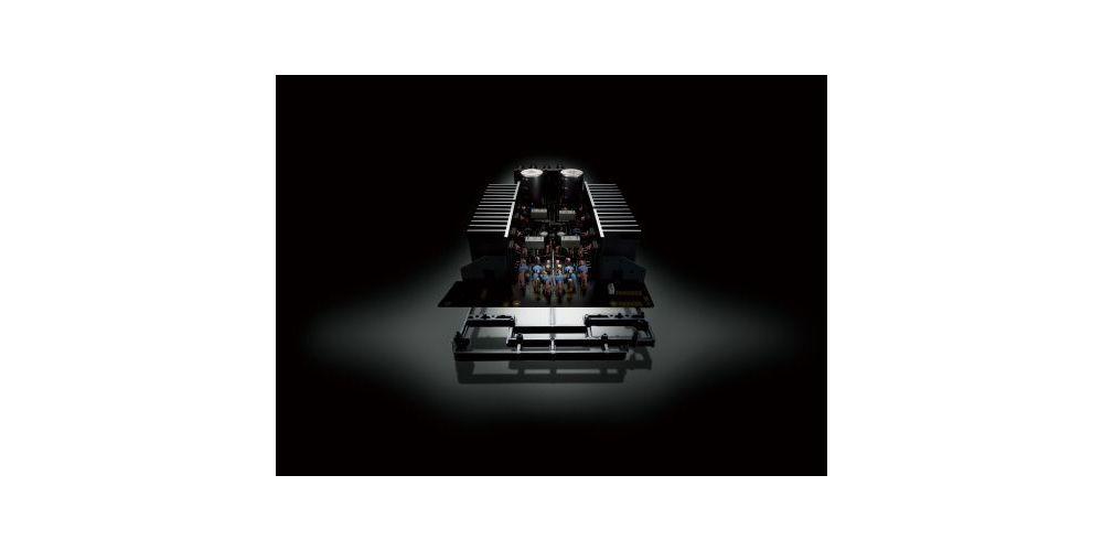 yamaha as501 silver amplificador detalle
