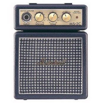 MARSHALL MS-2C Amplificador Guitarra Mini 2W, Clasic, MMAMS2C