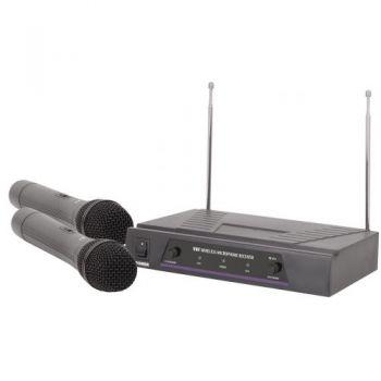 QTX VH2 Microfono Inalambrico Doble de Mano