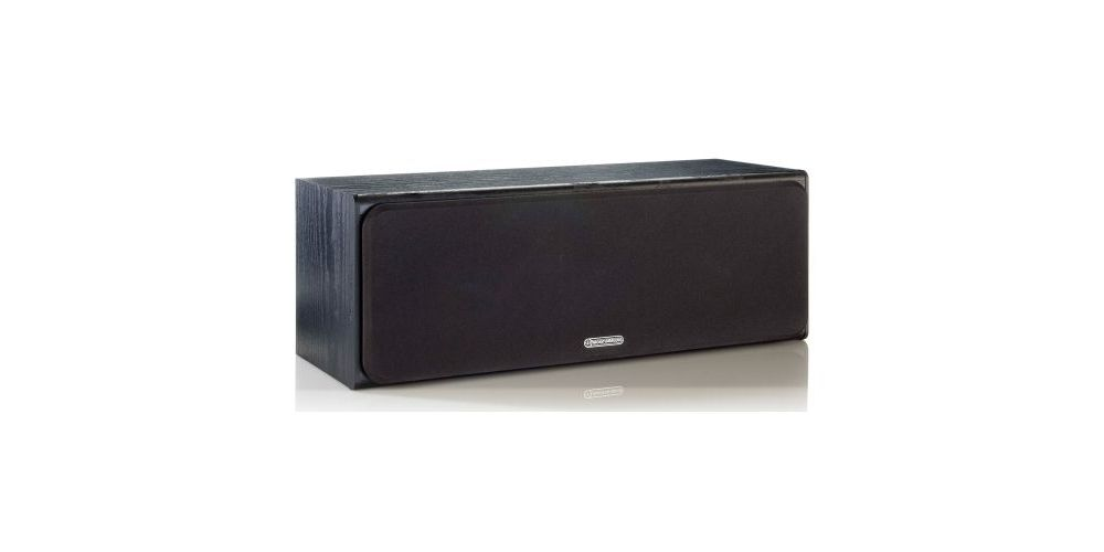 MONITOR AUDIO BRONZE CENTRE BLACK FRONT