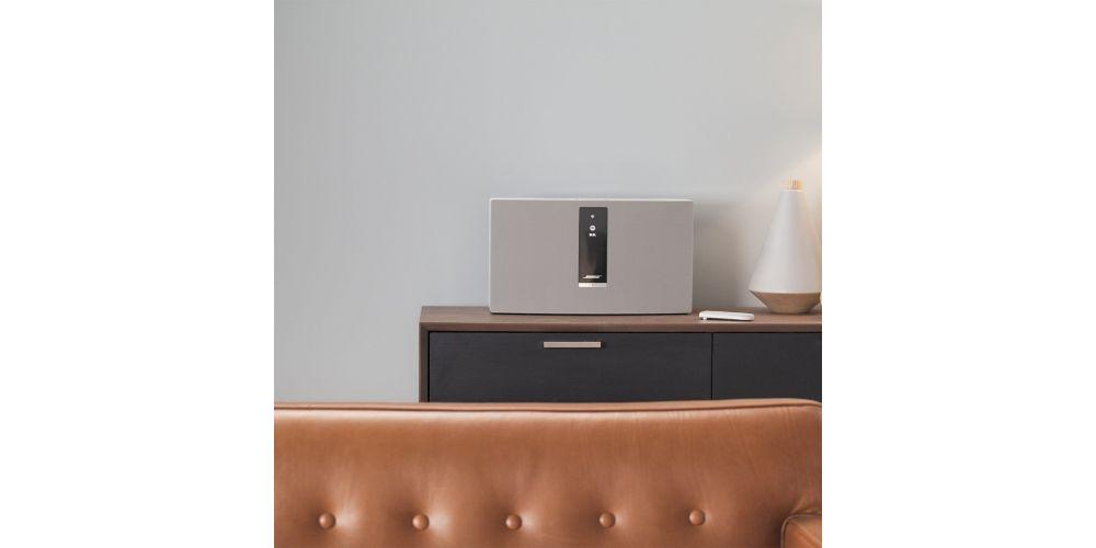 bose soundtouch 30 iii wifi bluetooth calidad sonido blanco