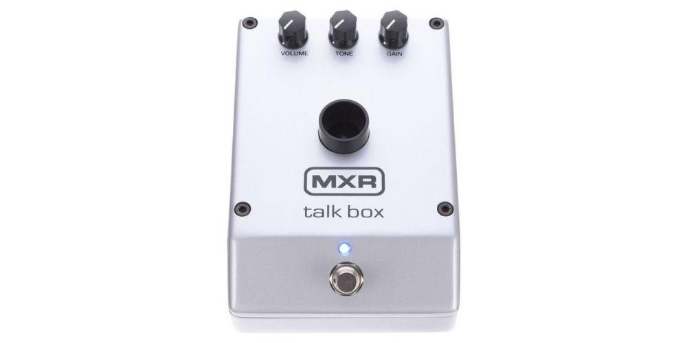 dunlop mxr m222 talk box front