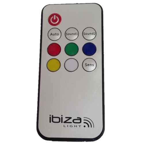 Ibiza Light Astro Ball 12 con mando