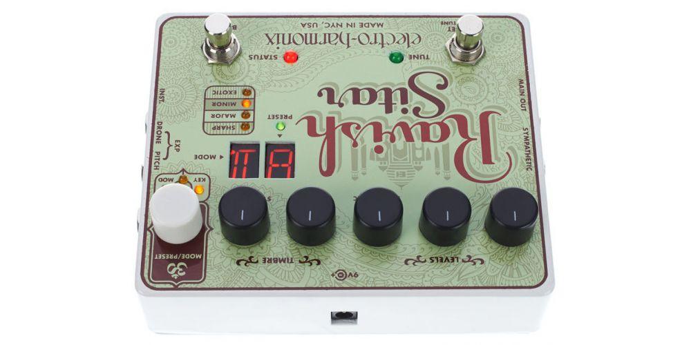electro harmonix xo ravish sitar pedal 2