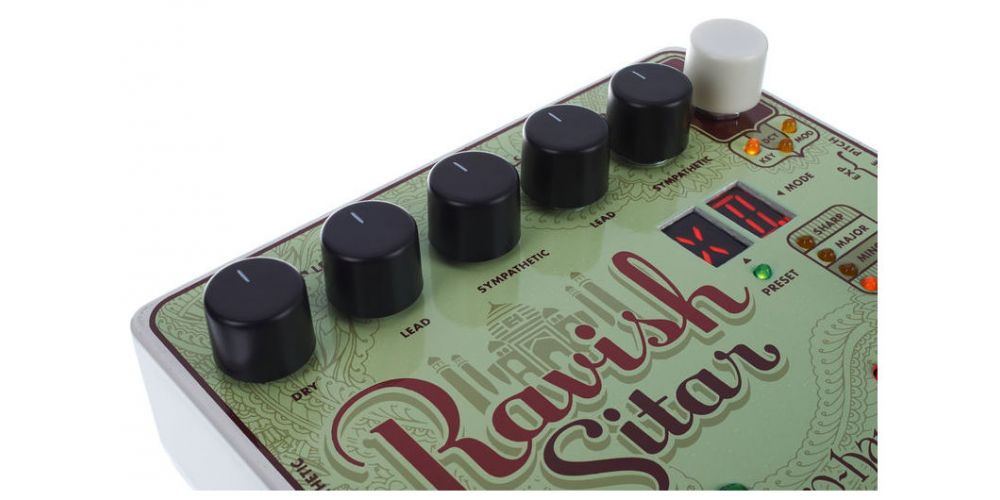 electro harmonix xo ravish sitar pedal 5