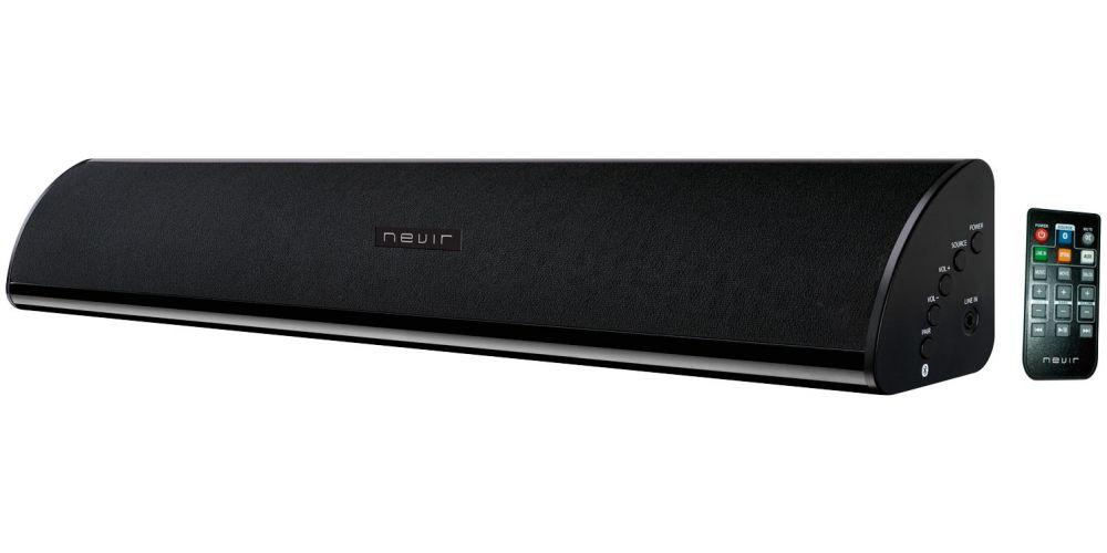 NEVIR 840 MSBBU Mini Barra Sonido 2,0 Bluetooth Negro