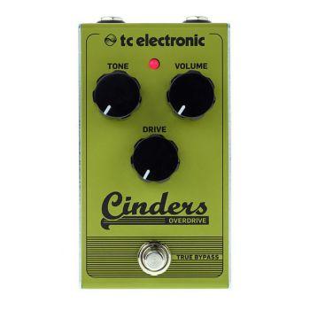 TC Electronic Cinders Overdrive Pedal de efectos