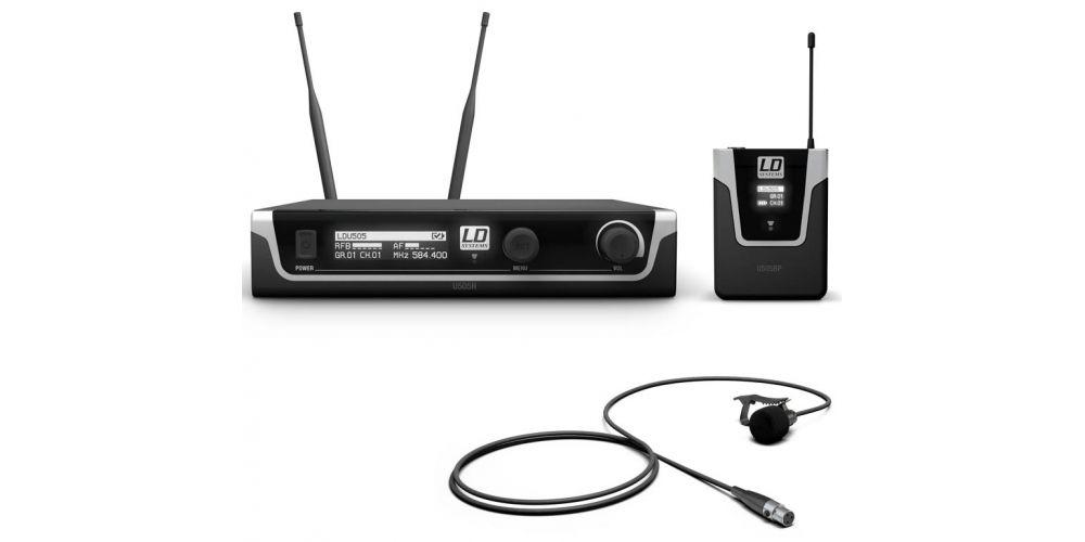 comprar microfono lavalier ldsystems U505BPL