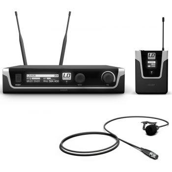 LD SYTEMS U505 BPL Micrófono Inalámbrico de Solapa
