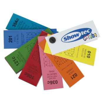 Showtec C-Tube Swatchbook Guía de Color para Fluorescente 20600