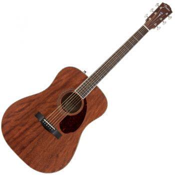 Fender PM-1 Dreadnought All Mahogany con Estuche Natural