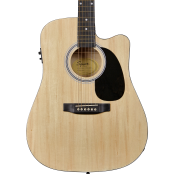 Fender Squier SA-105CE Natural. Guitarra Acústica