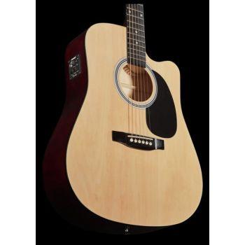 Fender Squier SA-105CE Natural. Guitarra Acústica