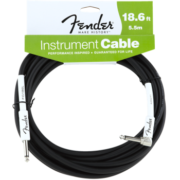 Fender Performance Series Instrument Cable jack Mono Acodado a Jack Mono 5.5m