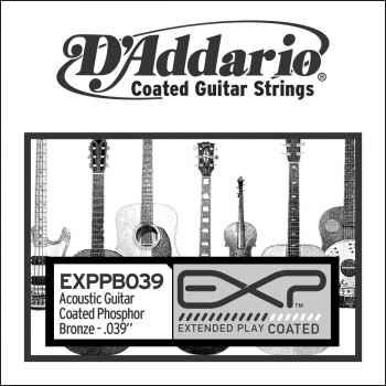 D´addario EXPPB039 Cuerda Suelta para Guitarra Acústica