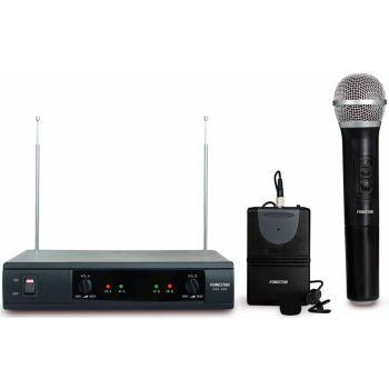 Fonestar MSH-209 Doble mic inalámbrico mano y petaca VHF