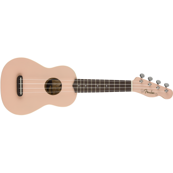 Fender Venice Soprano Ukelele Shell Pink