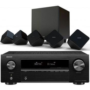 DENON AVR-X250BT+SYS2020 Conjunto Home Cinema