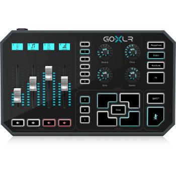 TC helicon GO XLR Interfaz de Audio USB, Todo en Uno