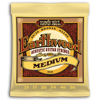 ERNIE BALL 2002 JUEGO ACÚSTICA EARTHWOOD BZ. MEDIUM 13-56