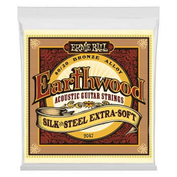 ERNIE BALL 2047 JUEGO ACÚSTICA EARTHWOOD BZ. SILKSTEEL XSOFT10-50