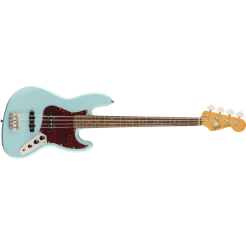 Fender Squier Classic Vibe 60s Jazz Bass Laurel Fingerboard Daphne Blue