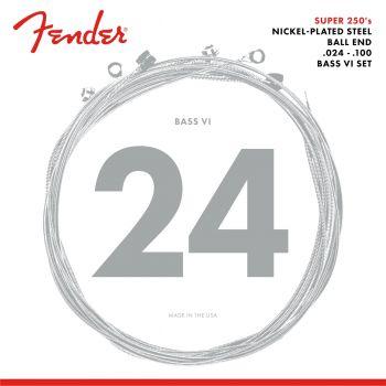 Fender Super 250 Bass VI Strings Nickel Plated Steel
