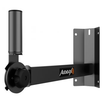 Audibax Neo 50 Corner Soporte Inclinable Altavoz Pro para Esquinas. Carga 35Kg, Vaso 35mm