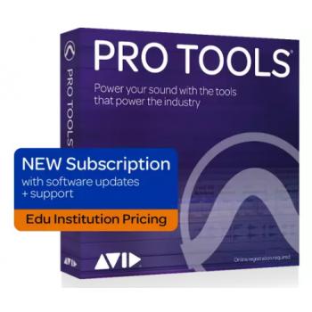 Pro Tools 2018 Suscripción Anual Institucional - Link Descarga
