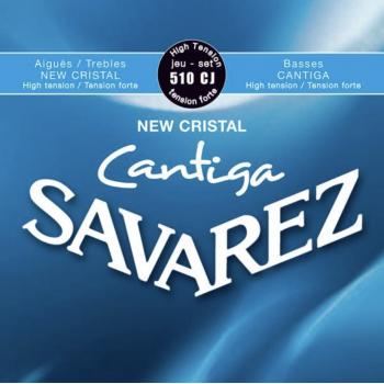 Savarez 510CJ New Cristal Cantiga Set Cuerdas Guitarra Clasica