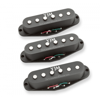 Seymour Duncan STK-S10 YJM Set Negro Pastilla para Guitarra Eléctrica