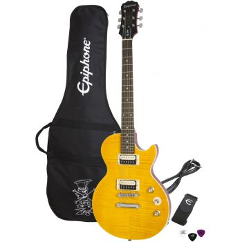 Epiphone Slash AFD LP Special-II Outfit Appitite Amber Guitarra Electrica