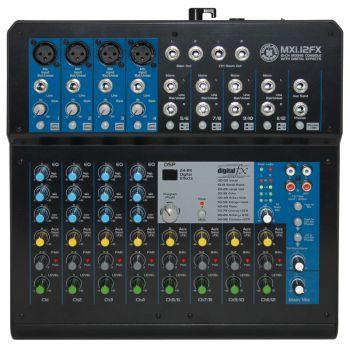 Topp Pro MXI-12FX Mezclador 12 Canales con Procesador de Efectos