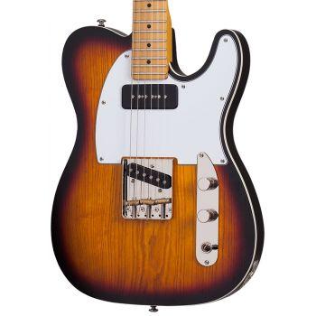Schecter PT Special 3-Tone Sunburst Pearl. Guitarra Eléctrica