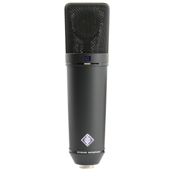 NEUMANN U-87 Ai MT ,Microfono Multipatron Color negro