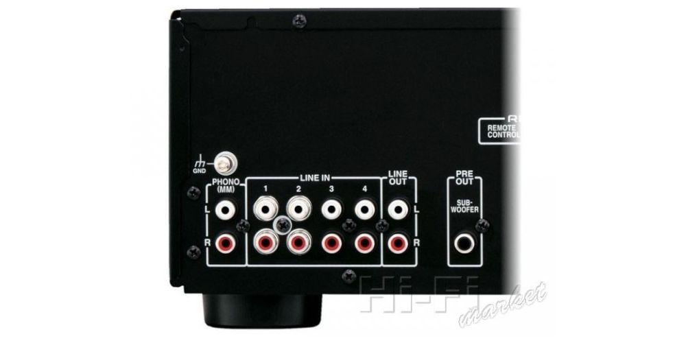 Onkyo A 9030 bk amplificador conectores detalle conexiones